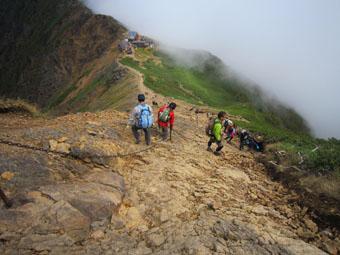 八ヶ岳・赤岳の山歩き 3