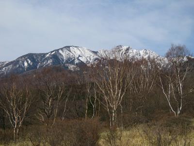 美し森 山頂より