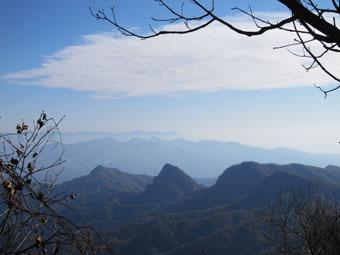 角落山~剣の峰の紅葉 1