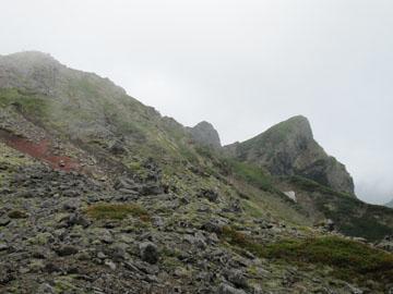 八ヶ岳(硫黄岳~横岳)ツクモグサを求めて 2