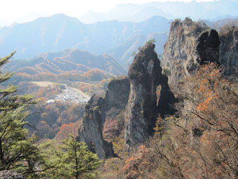 妙義山の石門めぐり