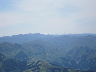 小沢岳の山歩き(続)