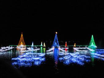 「榛名湖イルミネーションフェスタ2011」