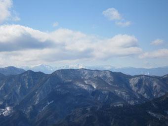 南牧村・立岩山頂