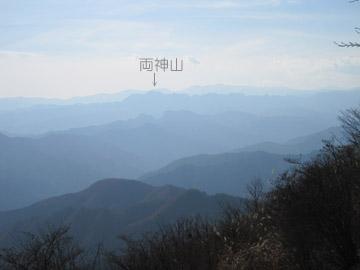 西御荷鉾山の山歩き 2