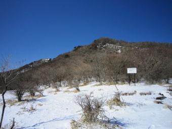 冬の赤城山にリベンジ