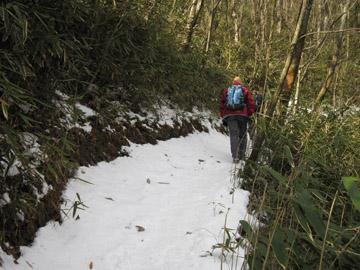 浅間隠山のハイキング 1