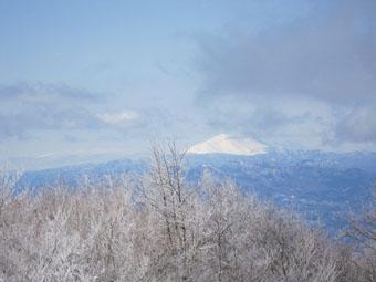 赤城山・地蔵岳の雪山ハイキング