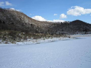 赤城山・覚満淵の雪景色