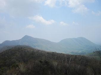 赤城・鈴ヶ岳,鍬柄山ハイキング