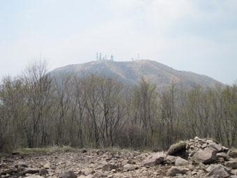 赤城・長七郎山~小地蔵岳へ