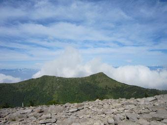湯の丸山~烏帽子岳へ