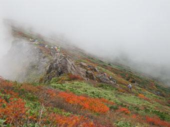 紅葉の谷川岳(続)