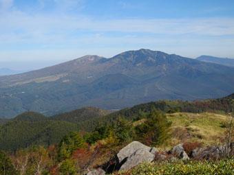 湯ノ丸山~烏帽子岳の紅葉 1