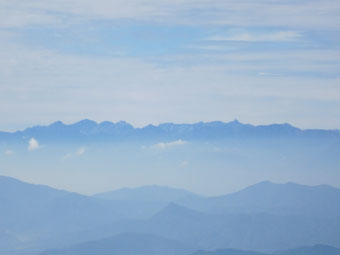 湯の丸山~烏帽子岳の紅葉 2