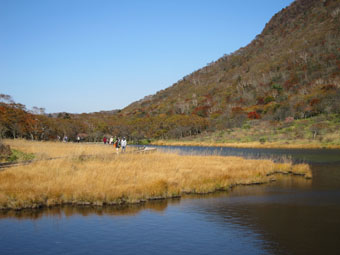 赤城・覚満淵の散策