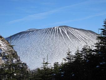 浅間山の第一外輪山・黒斑山 1