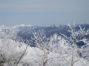 赤城山・黒檜山の眺望