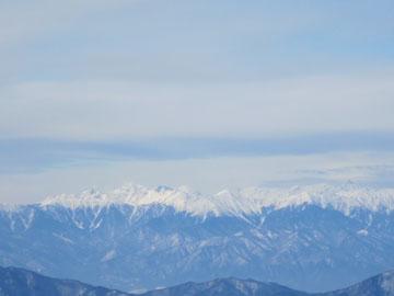 冬の烏帽子岳 2
