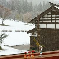 初めての…雪…さとやさん