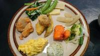 お野菜いっぱい食べれました