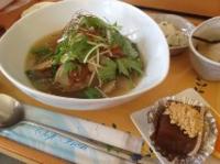 下仁田ネギ入り肉団子と野菜の食べるスープ♪