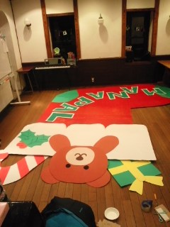 クリスマス発表会まで1日☆