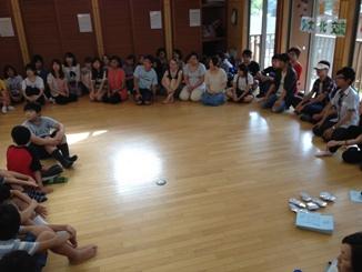 ギュッとすればキュンとなる夏キャンプ2012-初日・昼