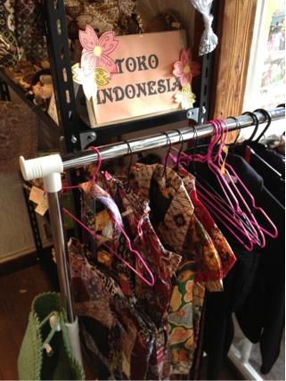 インドネシア物品交流店:第三弾オープン♪