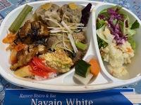 ナバホホワイトのお弁当