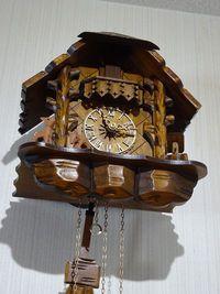 我が家の鳩時計が大変身