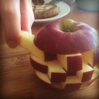 リンゴのジェンガ
