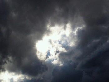 昼間の雲・・