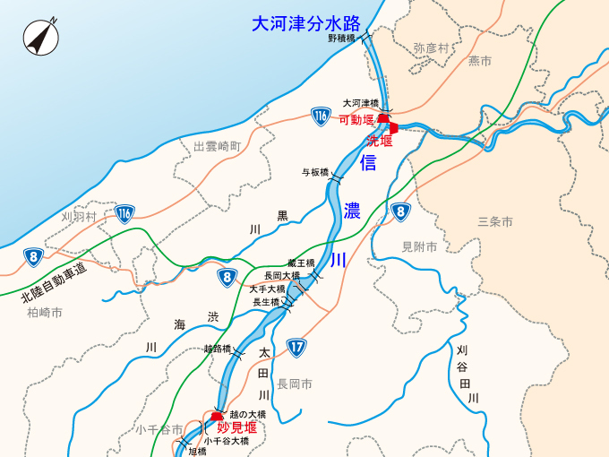 新潟平野を行く(2014年11月)