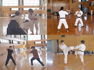 武術交流会合宿 其の五「第二日目練習」