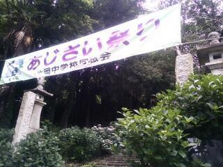 清水寺のあじさい