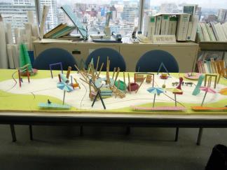 ケルナー遊具の模型 カッパピア跡地 2014 4