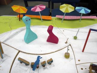 ケルナー遊具の模型 カッパピア跡地 2014 4 の続き