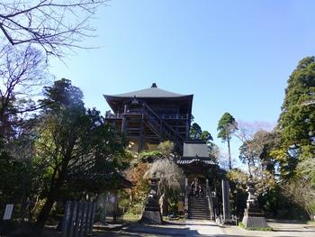 坂東33観音巡り第31番札所大悲山笠森寺を参詣