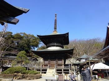 坂東33観音巡り第30番札所平野山高蔵寺を参詣