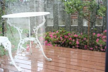雨が降っても・・・・・
