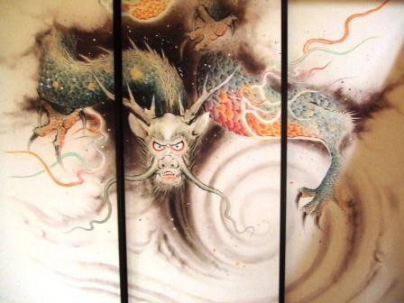 春の五色龍王襖絵展