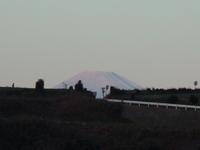 初日の出と富士山の続き