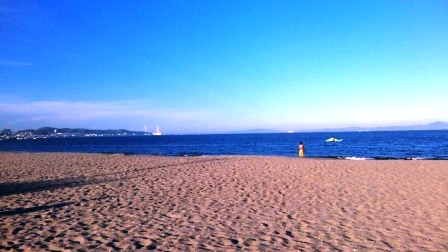 海と空とお地蔵様