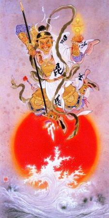 五色龍王襖絵と慈光の風景展