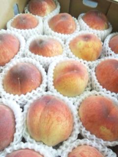 美味しそうな桃♪