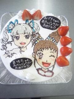 本日のデコレーションケーキ☆