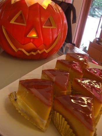 かぼちゃプリン風チーズケーキ☆