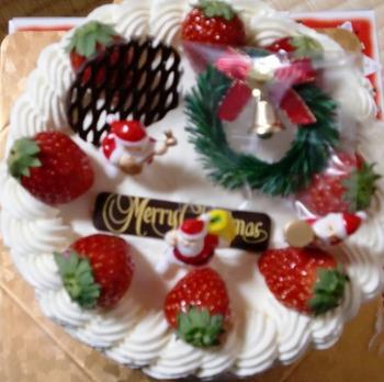 ケーキですよ。