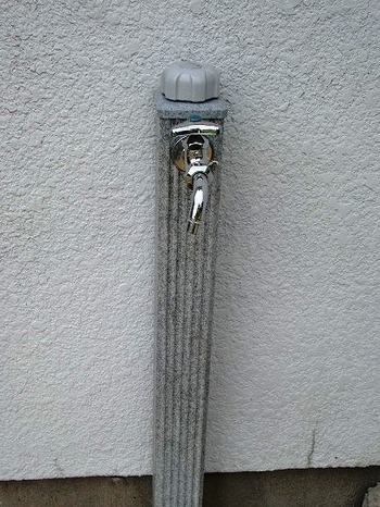 蛇口と支柱